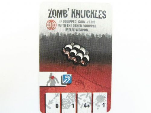 AN: Equipment Card (Zomb'Knuckles)